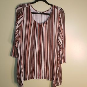 Dana Buchman Womens Top Sz XL